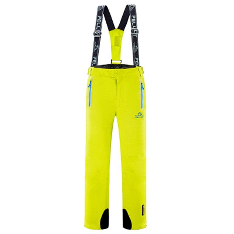Livraison gratuite marque Pelliot en hiver pantalon de Ski homme et femme Skis imperméables, bretelles pantalon de Ski respirant pantalon chaud