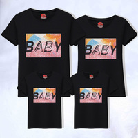 Family Clothing Mom Son T Shirts 2019 Good Cotton Mother Kid Matching Matching Family Shirts Matching Family Outfits
