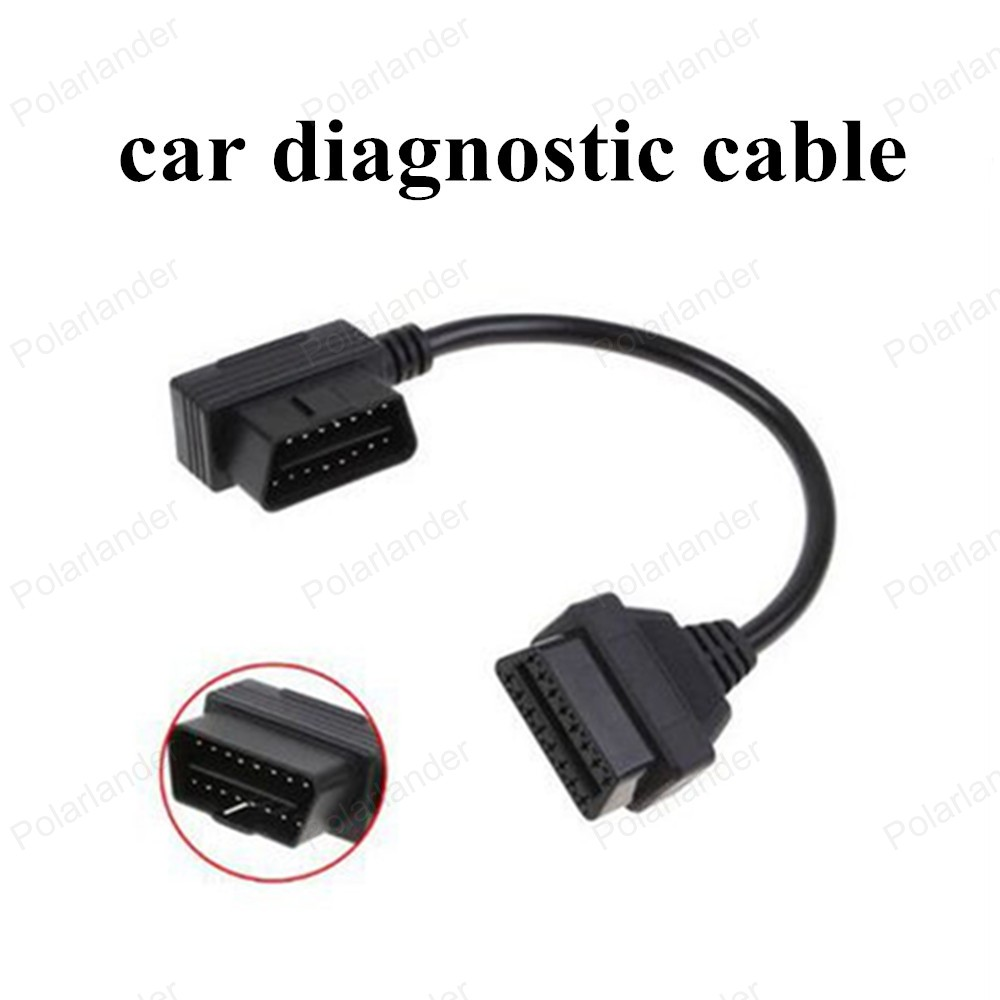 new! OBD-II OBD2 Extension Cable Male to Female Compatible Diagnostic Tools 16Pin