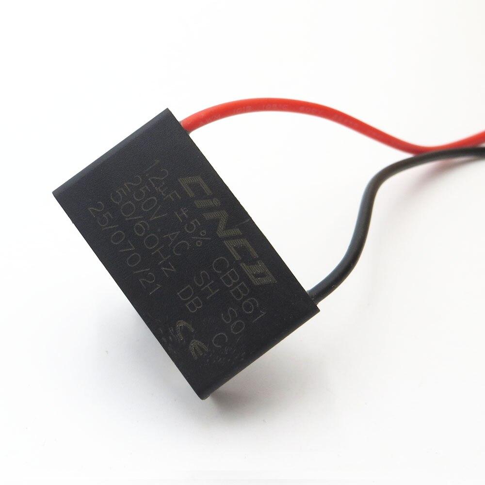 1 Pc Cbb61 Motor Run Kondensator 1,2 Uf 250 V Ac 2 Draht Elektrische Fan Geschwindigkeit Elektrische Fanners Ventilatoren Auspuff Fan Kondensator Start Modische Muster Home