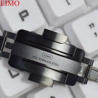 EIMO Подлинная 1:1 группа для Apple watch полосы 42 мм 44 мм Iwatch 4/3/2/1 38 мм 40 мм Нержавеющаясталь ссылка браслет ремешок Ремешок