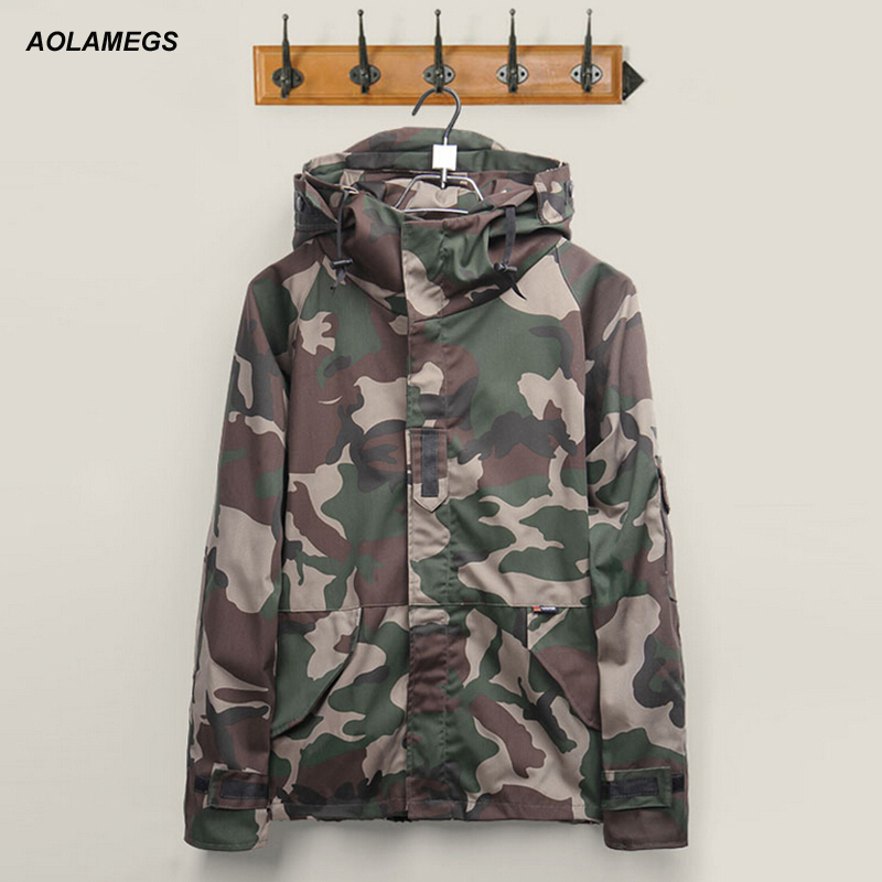Jacket mens 2016 Brand Harajuku Skateboard Sporting Camouflage Outdoors Jackets Men/Women military Clothes Coats Chaqueta Hombre-in Jackets from Men's Clothing