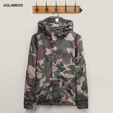 Jacket mens 2016 Brand Harajuku Skateboard Sporting Camouflage Outdoors Jackets Men/Women military Clothes Coats Chaqueta Hombre