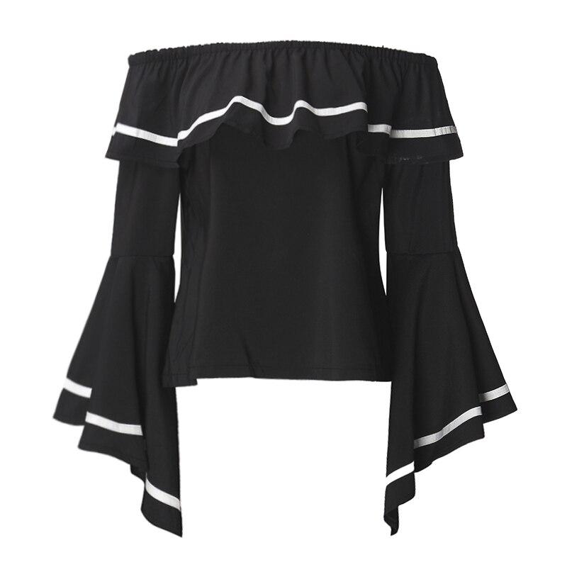 HTB1TDwnPpXXXXawXpXXq6xXFXXXe - Butterfly Sleeve Slash Neck Off Shoulder Shirts PTC 37