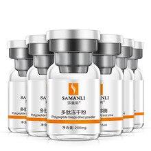 цена на MENGXILAN Polypeptide freeze-dried powder serum  oligopeptide-1 repair hydrating solution shrink pore beauty salon kit skin care