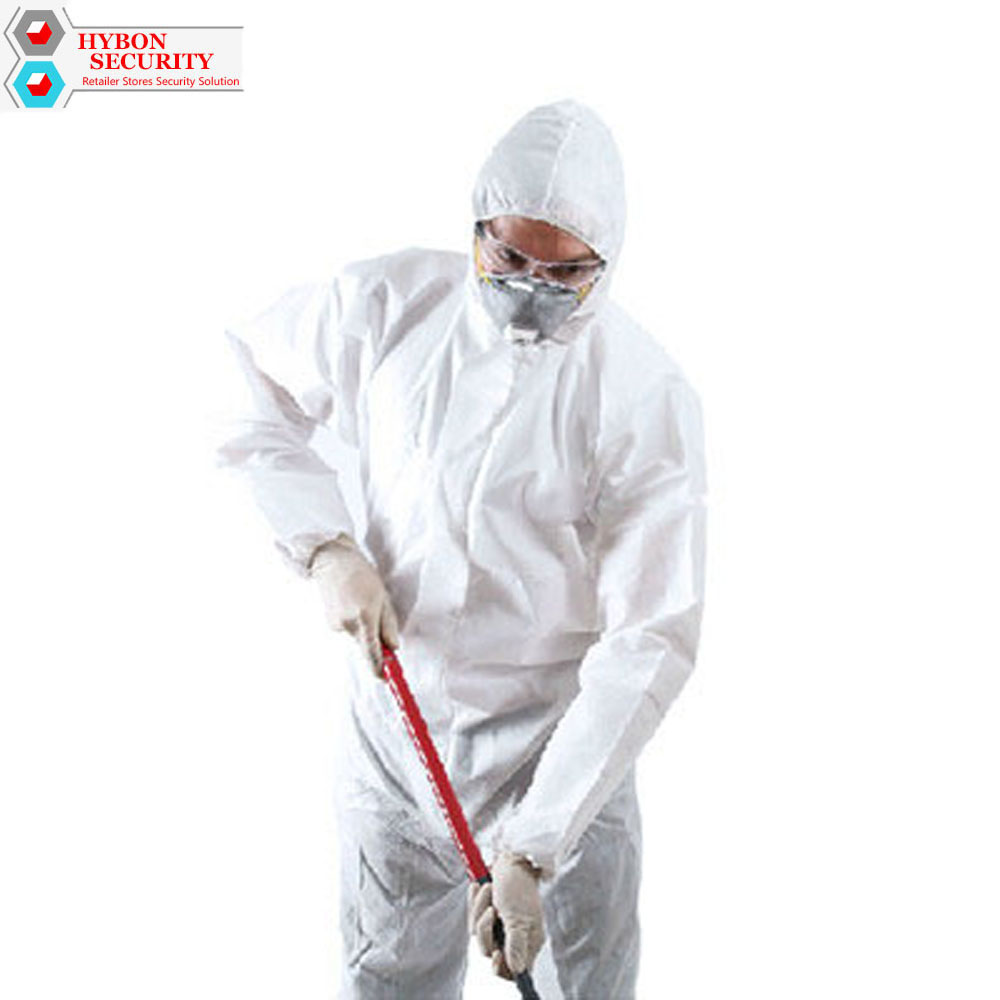 White Labor Clothing Coveralls Chemical Safety Suit Working Dust Spray Suit Safety Clothing Siamese Protective Clothing Workwear