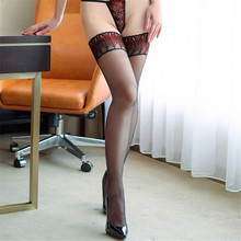 Peacock Style Thigh High Stockings