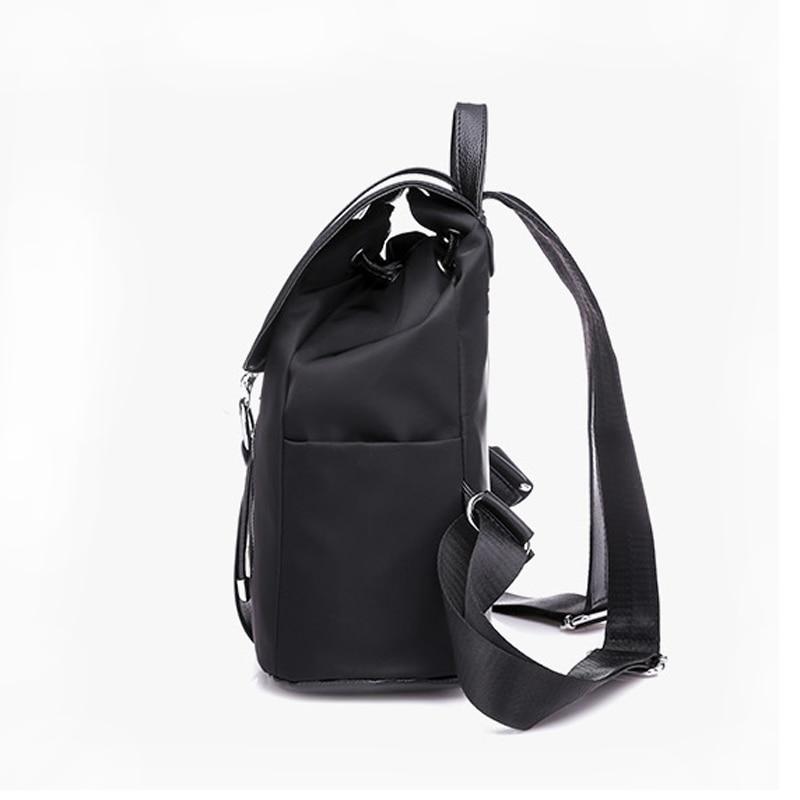 Купить с кэшбэком REPRCLA Fashion Waterproof Oxford Backpack Girls Schoolbag Shoulder Bag High Quality Women Backpacks Travel Bag Mochila