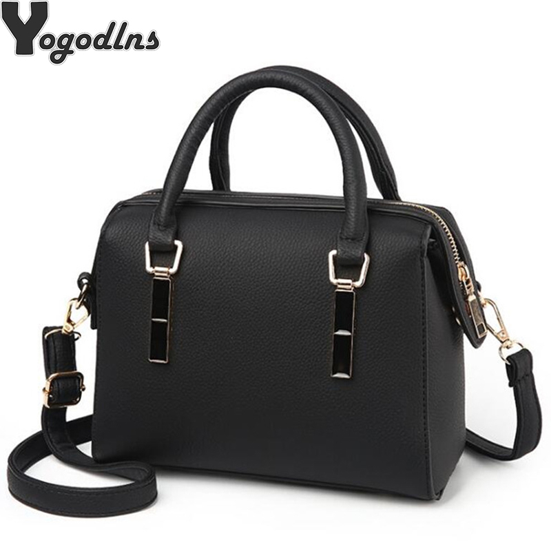 Vintage New Handbags For Women 2019 Female Brand PU Leather Handbag High Quality Small Bags Lady Shoulder Bags Casual