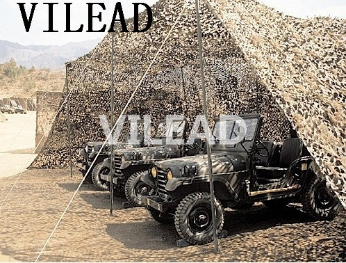 VILEAD 3M x 10M (10' x 33') Desert Digital Camo Netting Military Army Camouflage Net Shelter for Hunting Camping Car Covers Tent aa shield camo tactical scarf outdoor military neckerchief forest hunting army kaffiyeh scarf light weight shemagh desert dig