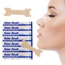 200 шт/партия(55x16 мм) облегчающие дыхание анти храп носовые полоски правильный способ остановить храп полоски улучшить Пластырь от храпа уход Produc