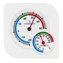 Мини-термометр детский дом комната влажный гигрометр-20~ 50 градусов. C измеритель температуры пластиковая Метеостанция поставщик