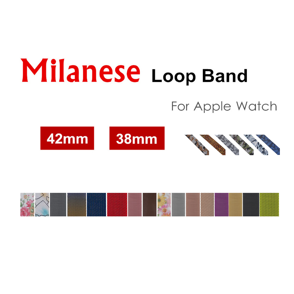 Sport Milanese loop strap for apple watch band 42mm/38mm Stainless Steel metal Bracelet wrist belt watchband for iwatch3/2/1 все цены