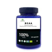 Natural BCAA  100pcs/bottle 100% bcaa powder