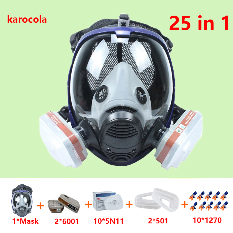 Back To Search Resultshome & Garden Festive & Party Supplies For 6800 Silicone Gas Mask Full Face Facepiece Respirator Painting Spraying Mask