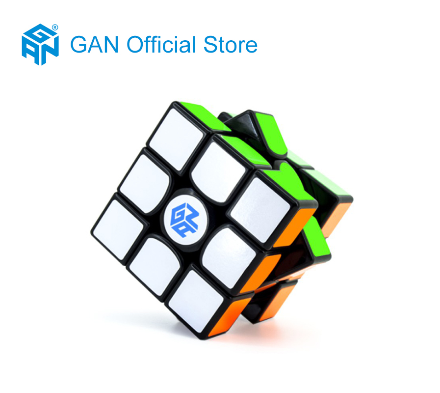 GAN356 AIR 3x3x3 Stickers Standard puzzle magic speed cube professional gans cubo advance version toys for children