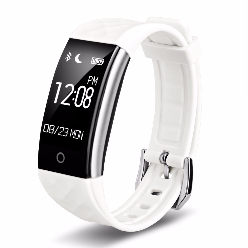 Diggro S2 S2 Smart Wristband Bracelet IP67 Heart Rate Monitor Fitness Tracker Touchpad OLED Strap In