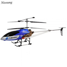 Niosung New  53 Inch Extra Large GT QS8006-2 Speed 3.5 Ch RC Helicopter Builtin Gyro Blue