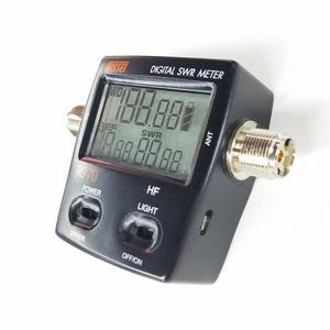 Image 3 - NISSEI RS 70 الرقمية SWR عداد الطاقة 1.6 60MHz 200 واط م نوع موصل