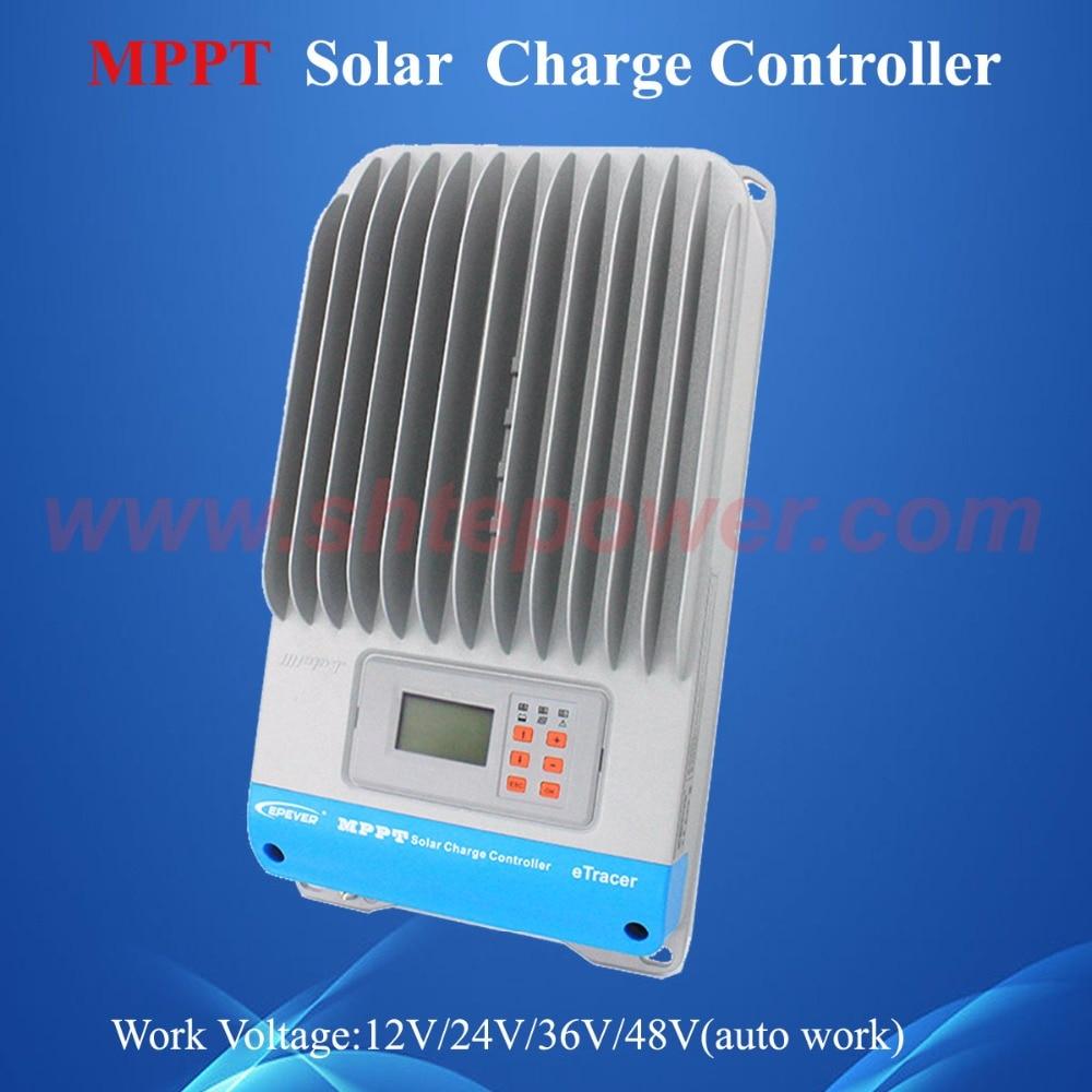 Neue 60A eTracer ET6415BND MPPT Solar Laderegler, 60amps 12V 24V 36V 48V EP Solar Batterie Laderegler Regler