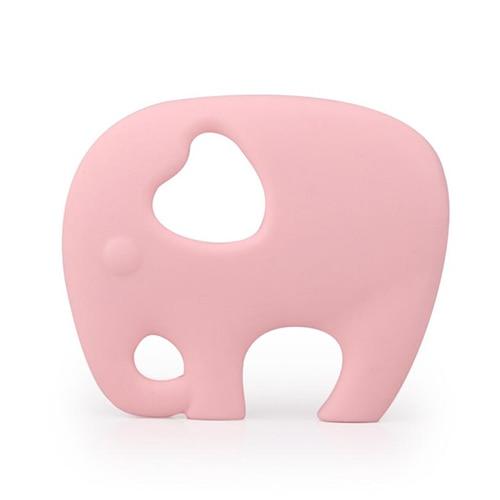 Прищепка для соски цепь силиконовый держатель пустышка Прорезыватель Соска с пищевой силиконовой соской для кормления младенцев BNZ20 - Цвет: Gossamer Pink