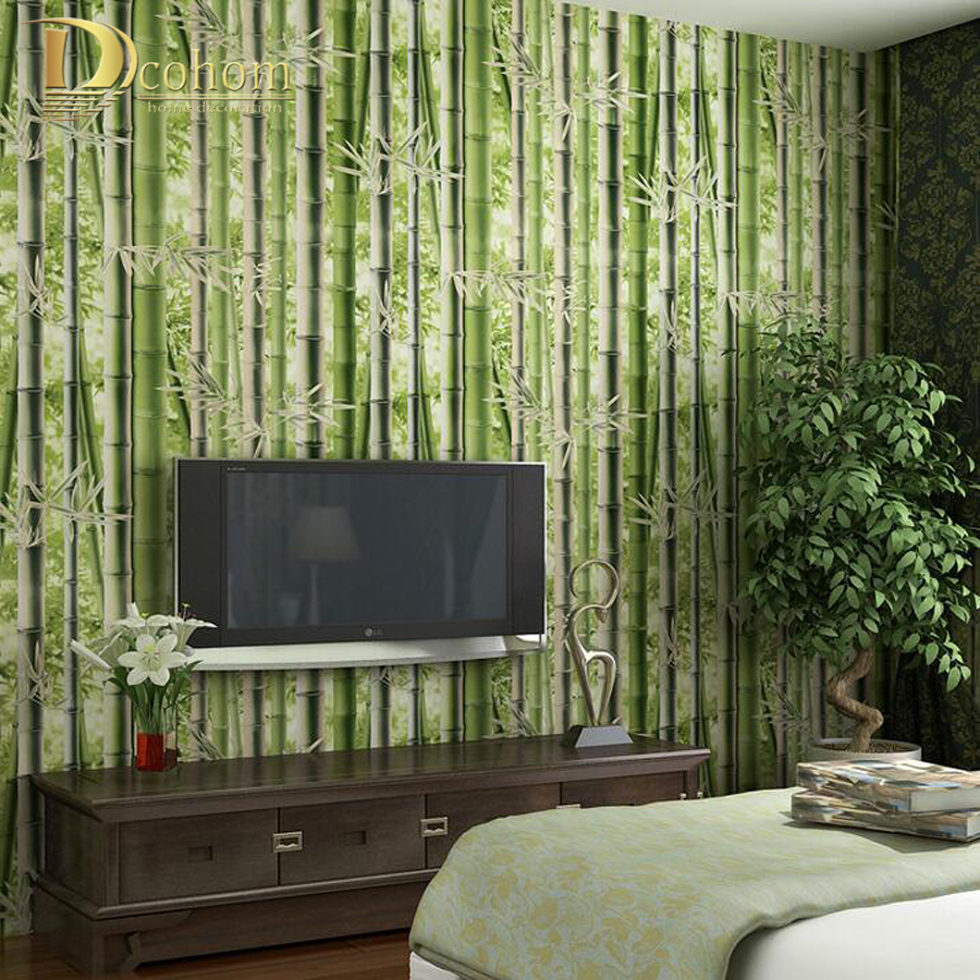 Online buy wholesale bamboo wallpaper for walls from china for Bamboo wallpaper for walls