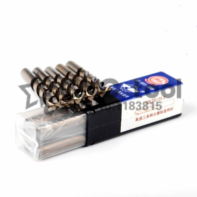 10PCS 1.0mm-8.0mm M35 HSS-CO Cobalt Drill Bits HSS Twist Drill Bit For Stainless Steel (1.5/2/2.5/3/4/4.5/5/5.5/6/6.5/7/7.5mm)
