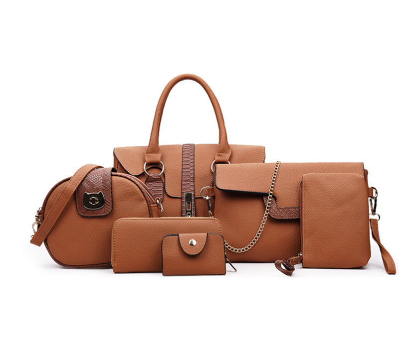 brown women handbag