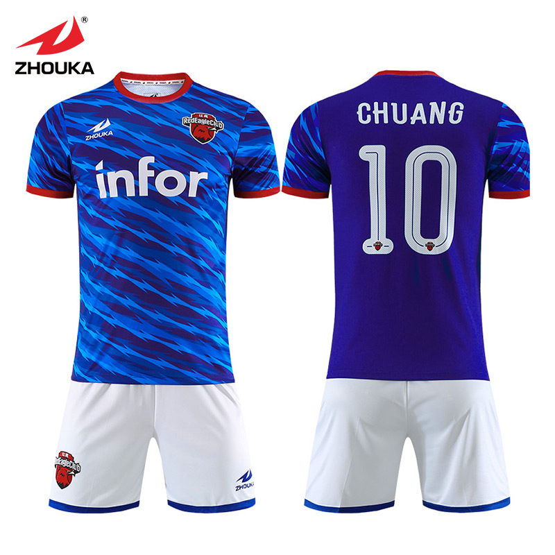 27ec6763e Detail Feedback Questions about Top Quality Sublimation Shirt Custom Team  Soccer Jersey Uniforms Wholesale Futbol Clothes Youth Men Kit Football  Uniform on ...