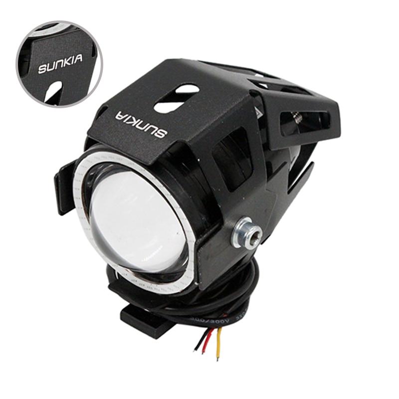 SUNKIA 2Pcs/Lot U7 3000LM Angel Eye Ring+Devil Eye Motorcycle LED Headlight  Fog Light CREE Chip 3 Modes Waterproof Free Shipping on Aliexpress.com |  Alibaba ...