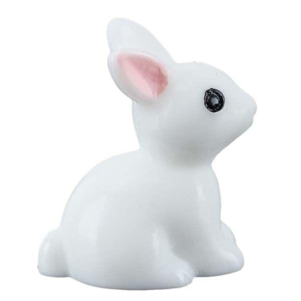 US $1 07 18% OFF Hot Sale 10pcs Mini Rabbit Ornament Miniature Figurine  Plant Pot Garden Decor Toys Home Crafts Classic Art Collectible-in  Figurines &