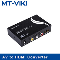 MT VIKI AV to HDMI Converter RCA Component Analog Audio Video to HDMI Adapter FHD 720P 1080P Optional MT AH312