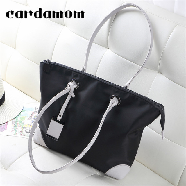 2018 Hot Sales Women Casual Totes Big Bags Simple Hand Bags Ladies High Quality Shoulder Oxford Bags Big Capacity Women's Bags