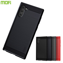 MOFi For Samsung Nate 10 Case Luxury Carbon Fiber Anti-drop TPU Soft Cover Cases For Samsung Nate 10 Back Cover