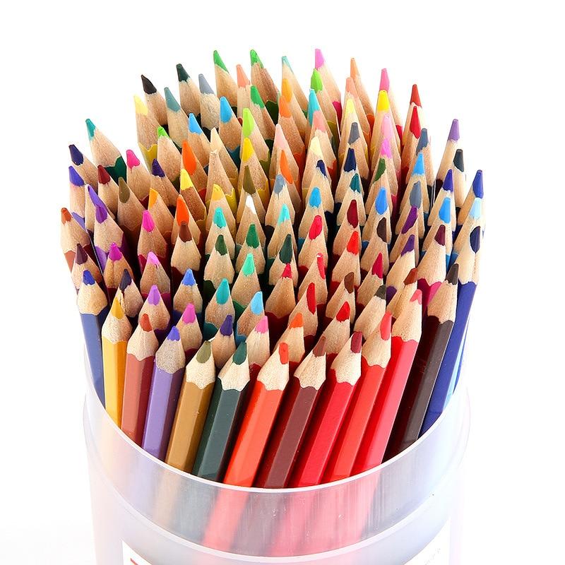 120 Color Pencils Wood Colored Pencils Set Artist Painting ...