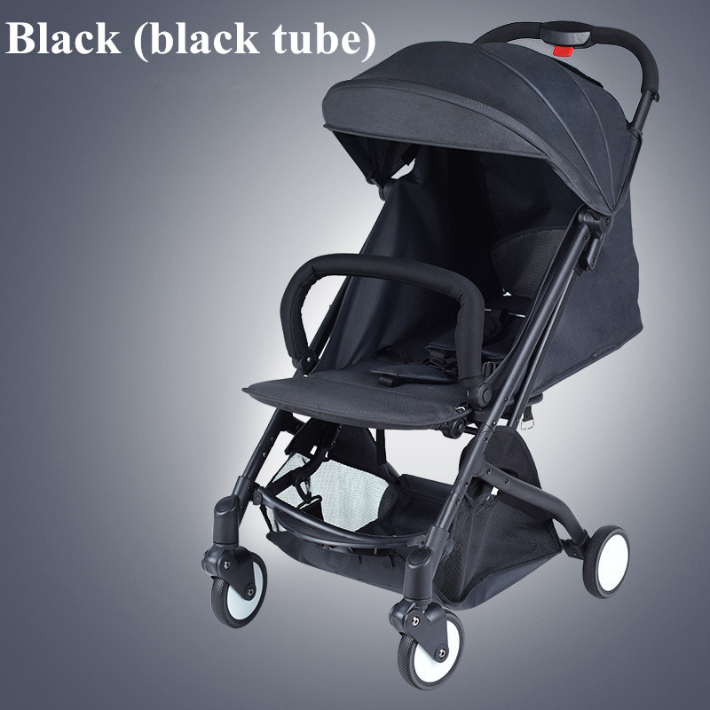 2017 Brand New 4 in 1 Newbore Umbrella Pram Lightest Portable Baby Strollers Four Wheels Anti-Shock One Key Folding Cart08