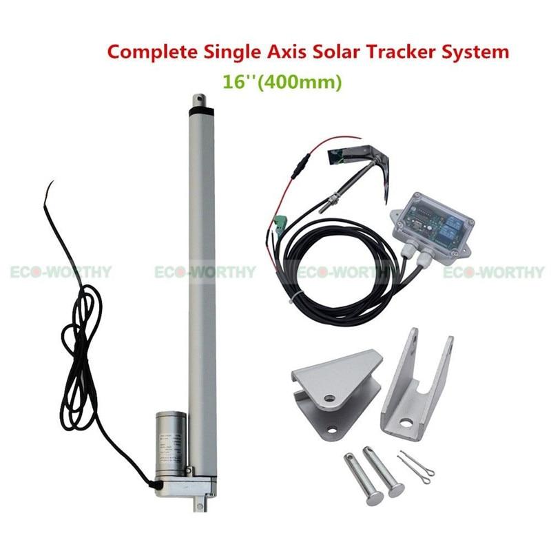Sunlight Solar Tracker System 16 Single Axis Complete Kit for Solar SystemSunlight Solar Tracker System 16 Single Axis Complete Kit for Solar System