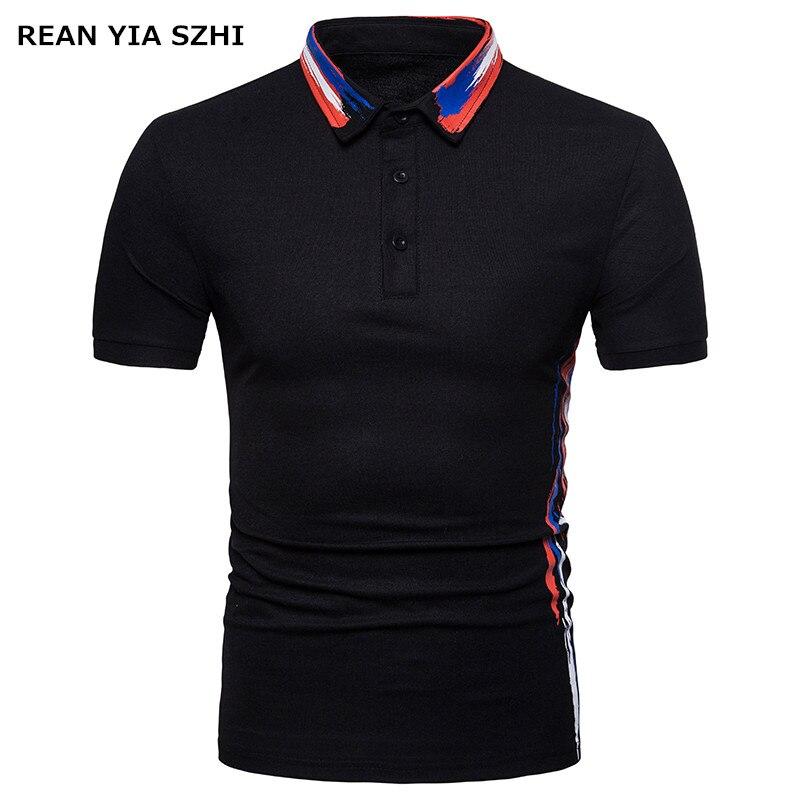 2018 new brand men polo shirt fashion men 39 s european size short sleeved polo shirt casual male. Black Bedroom Furniture Sets. Home Design Ideas