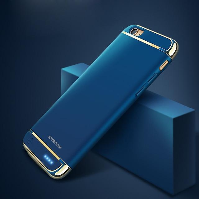 2500 mAh/3500 mAh Banco de Potência Caso Carregador de Bateria Para o iphone 6 plus 6 Ultra Fino Caixa De Bateria de Backup Externo para o iphone 7 plus 7