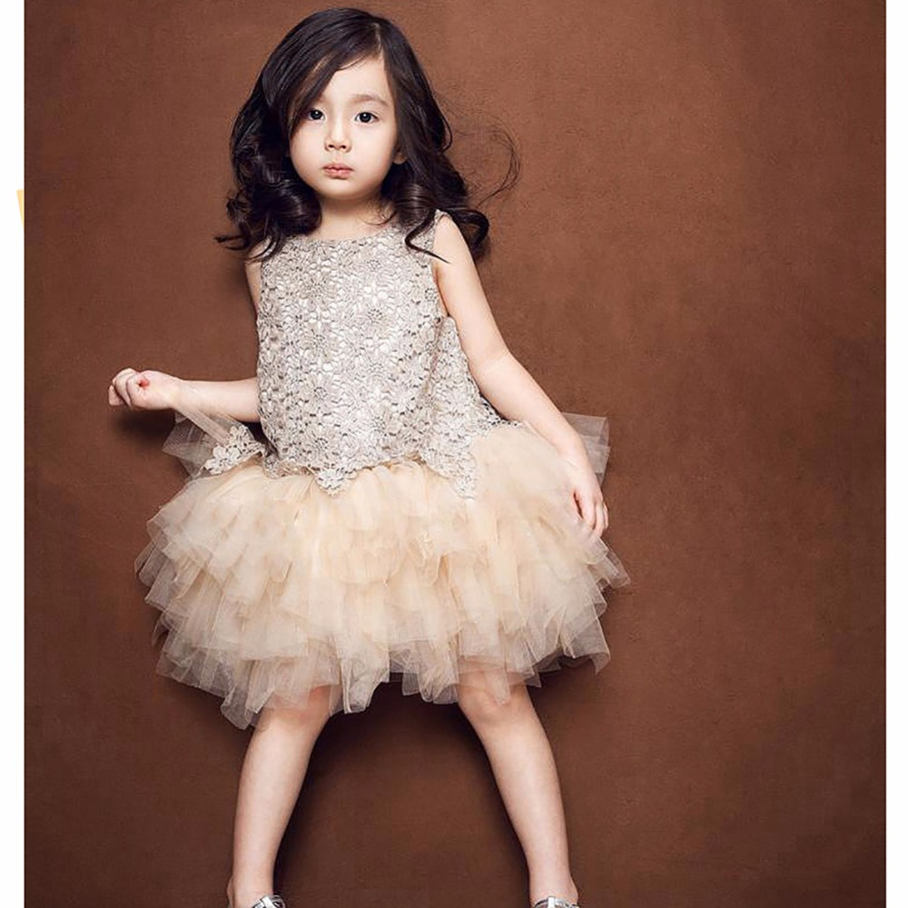 Beautiful crochet dresses for kids trendy - Cute Girls Kids Summer Toddler Baby Ruffle Lace Crochet Princess Dress Party Pageant Wedding Flower Tulle