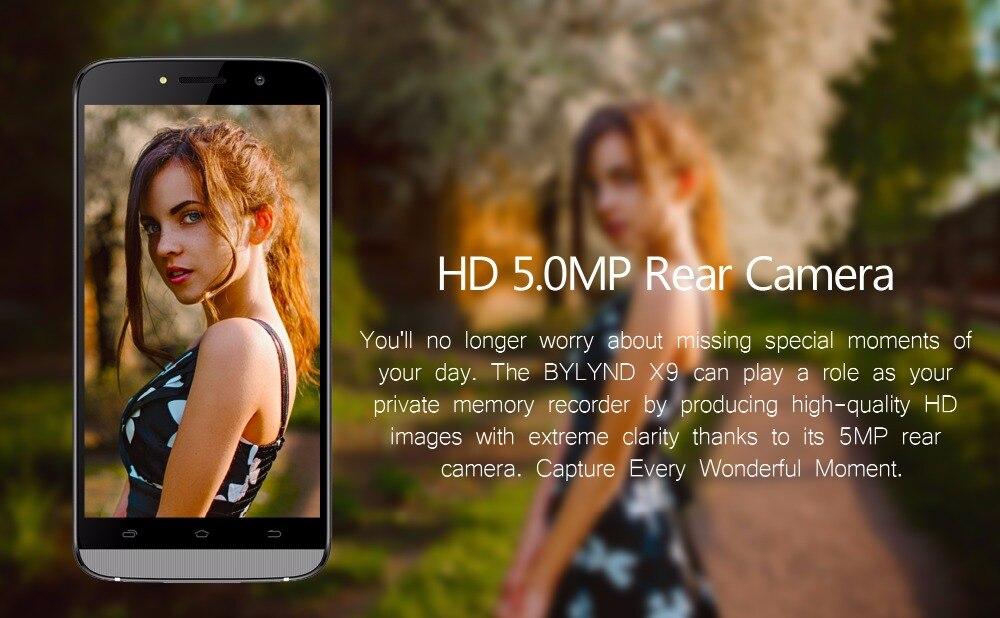 HD 5.0MP Rear Camera
