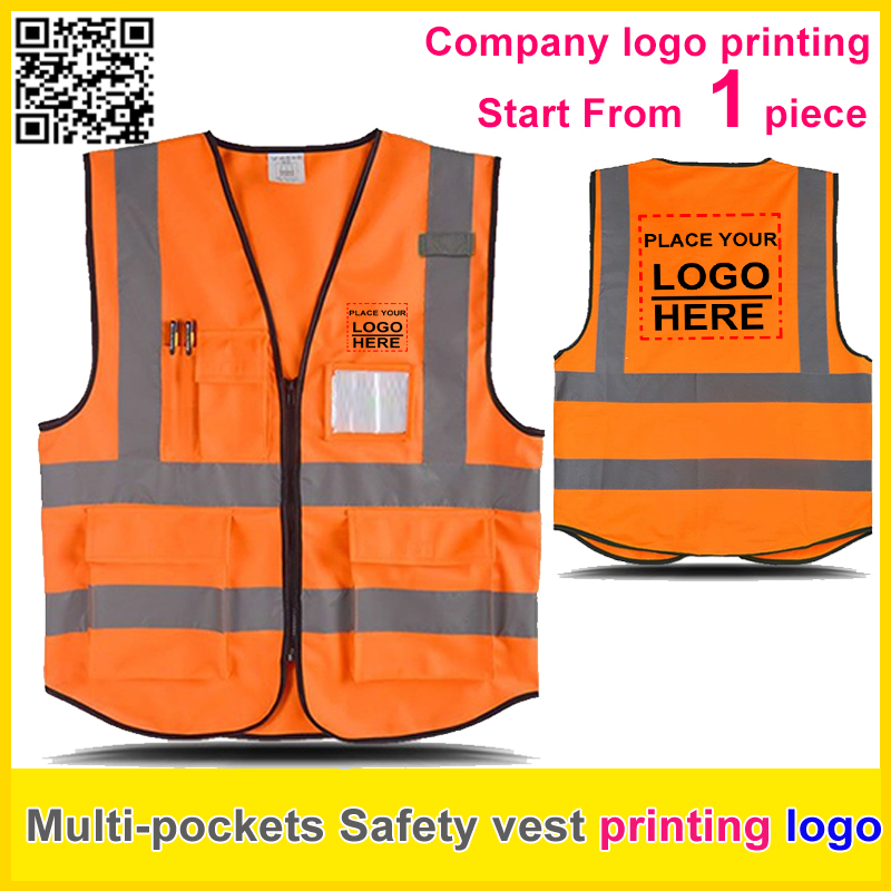 Security & Protection Spardwear A Carton Of 100pcs Customizable Reflective Mesh Vest Free Logo Printing Waistcoat With Reflective Crystal Lattice Workplace Safety Supplies