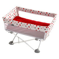 European Portable Newborn Baby Bed, Foldable Travel Bb Mosquito Net, Bedside Bed