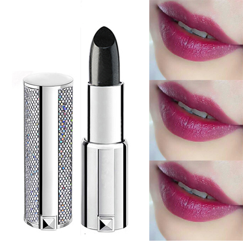 Blue rose cosmetische make-up magic lipstick Color Temperature Change - Make-up