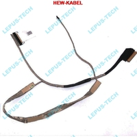 NEW 5 PCS LCD CABLE FOR DELL 5558 3558 5555 15 5000 5551 AAL20 40PIN LED DC020024900 0DDJYY LVDS FLEX VIDEO CABLE