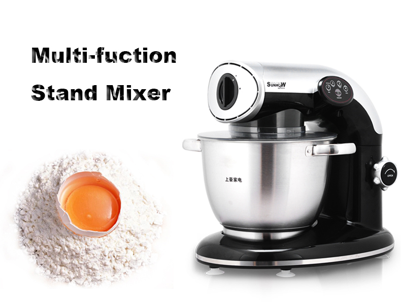 Household Dough Maker Multi-function Stand Mixer Househould Stand Mixer Domestic Dough Kneading Machine KA-1000 cukyi household electric multi function cooker 220v stainless steel colorful stew cook steam machine 5 in 1