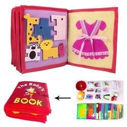 3D ребенка ткань книги нетканые задыхаясь Книга ручной разведки головоломки детей, игрушки, книги раннего развития образования чтение книги