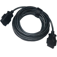 High Quality 10 Meters OBD2 Cable 16PIN Male to Female Connector 10 m OBD 2 16 PIN Male to 16 PIN Female Connector