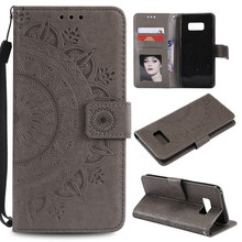 Leather Wallet Case Flip Card Slot Holster Cases For Samsung Galaxy S9 S8 Plus S7 S6 Edge PU Bag Note8