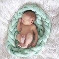 14 Colors Newborn Photography Props Ponytail Blanket Background 4 Meters Long Basket Wool Blanket Solid Photo Props Back